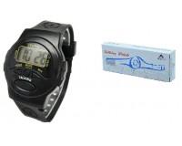 Часы наручные iTaiTek IT-662N электронные (будильник, говорящие), пластик
