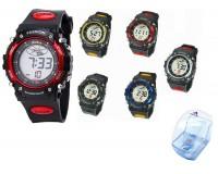 Часы наручные iTaiTek IT-812 электронные (дата, будильник, секундомер, таймер), пластик, подсветка