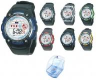 Часы наручные iTaiTek IT-819L электронные (дата, будильник, секундомер, таймер), пластик, подсветка