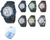 Часы наручные iTaiTek IT-822L электронные (дата, будильник, секундомер, таймер), пластик, подсветка