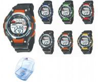 Часы наручные iTaiTek IT-823 электронные (дата, будильник, секундомер, таймер), пластик, подсветка