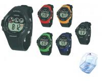 Часы наручные iTaiTek IT-831 электронные (дата, будильник, секундомер, таймер), пластик, подсветка