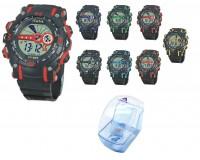 Часы наручные iTaiTek IT-833 электронные (дата, будильник, секундомер, таймер), пластик, подсветка