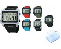 Часы наручные iTaiTek IT-851 электронные (дата, будильник, секундомер, таймер), пластик, подсветка