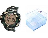 Часы наручные iTaiTek IT-852C электронные (дата, будильник, секундомер, таймер), пластик, подсветка