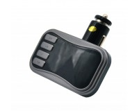 FM трансмиттер Broad KCB-902 12-24В, USB/microSD, автомобильный, Bluetooth, пульт, коробка,