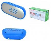 Часы сетевые VST 712Y-5 синие цифры, без блока питания