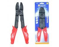 Инструмент Topfine 170281 обжимной для кабельных наконечников, резки и зачистки кабеля