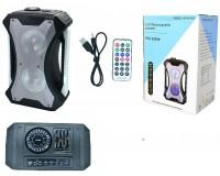 Акустические системы 1.0 Орбита D-501 15Вт Bluetooth, аккумулятор, AUX-3.5мм, USB, SD, MIC-6.3мм, 3, 65 кг серый