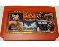 Картридж 8-bit YH8043 4in1(FinalMission+SnBros+GoodHand+HeroSchoo)