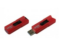 Флэш диск 128 GB USB 3.0 SmartBuy STREAM Red выдвижной