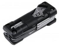 Мультиинструмент Rosenberg RPS-765003 11 в 1: отвертка шлицевая - 3шт, отвертка крестовая - 3шт, гаечный разводной ключ, шестигранники - 3шт, пробойник , материал: пластик, металл.