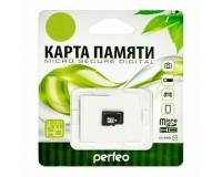 Флэш карта microSDXC 64 GB Perfeo Class 10 без адаптера
