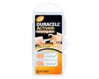 Батарейка. Duracell ZA13 BL 6 (для слуховых аппаратов) ActiveAir Nugget Box