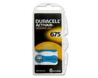 Батарейка. Duracell ZA675 BL 6 (для слуховых аппаратов) ActiveAir Nugget Box