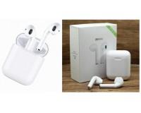 Наушники беспроводные - i8-MINI вкладыши, Bluetooth, беспроводные, пенал для зарядки, аккумулятор 50 мАч цветные