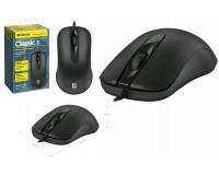 Мышь Defender MB-230 Classic USB Optica (1000dpi) черная, 2 кнопки+колесо-кнопка, коробка