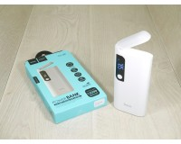 Портативное зарядное устройство HOCO B27 15000 мАч 1USB выход 5В/2А, 2USB выход 5В/1А, белый