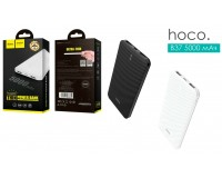 Портативное зарядное устройство HOCO B37 5000 мАч Выходной ток:1USB-1000мА, 2USB-1000мА, черный
