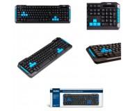 Клавиатура игровая Sven Challenge 9500 USB Black 104 клавиши+10 клавиш быстрого доступа игровая