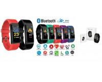 Фитнес браслет Орбита OT-SMS02 (M4) Размер: 18х12х43 мм. совместимость Android 4.4 и IOS7.1 и выше, Bluetooth 4.0, ЖК-дисплей 0, 96''(160х80) цветной сенсорный, время, шагомер, расстояние, калории, пульс (*), монитор сна
