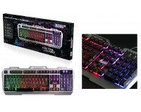 Клавиатура игровая SmartBuy SBK-354GU-K RUSH USB Black 104 клавиши мультимедийная, подсветка RGB
