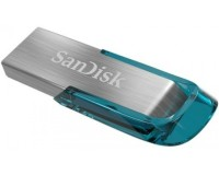Флэш диск 128 GB USB 3.0 SanDisk CZ73 Ultra Flair металл, Blue