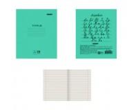Тетрадь 18 листов Пифагор линия, формат А5, 165х205 мм, офсет №2, с полями (104987)