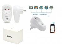 Умный дом Wi-Fi розетка Sonoff S26 10А, 90-250В AC, одна розетка, WiFi: 2.4 ГГц, 802.11.b/g/n