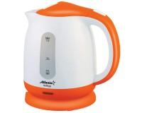 Чайник Atlanta ATH-2371 2000Вт. 1.7л. пластик, дисковый, Orange