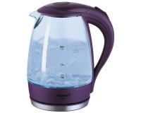 Чайник Atlanta ATH-2461 2000Вт. 1, 7л. стекло, дисковый, подсветка, Violet