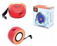 Акустическая система mini MP3 - H-813 3Вт Bluetooth, MP3, FM, microSD, microUSB встроенный аккумулятор 3.7V/1200 мА размер 9.5 х 4.8 см, цветная