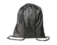 Сумка для обуви ТОП-СПИН для учеников начальной школы 226547 43х35 см., водоотталкивающая ткань, затягивается шнурком черная