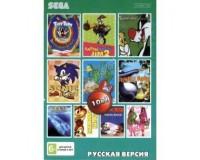 Картридж 16-bit 10in1 AC10001 (Sonic 3D Blas+Earthworm Jim 2+The Jungle Book+Tom & Jerry: Frantic Antic+...) (рус) bulk