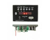 Модуль MP3 - MP3 66451Е Bluetooth, FM, microSD, USB, AUX 3.5mm, размер: 8 х 5 х 2 см., дисплей 1.5