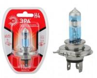 Автолампа Эра H4 12V 55W +110% тип цоколя: P43t (лампа головного света: ближний и дальний), блистер
