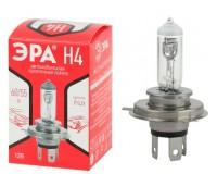 Автолампа Эра H4 12V 55W тип цоколя: P43t (лампа головного света: ближний и дальний), коробка