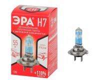Автолампа Эра H7 12V 55W +110% тип цоколя: Px26d (лампа головного света, противотуманные огни), коробка