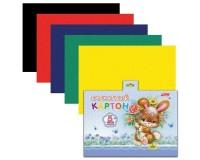 Картон цветной HATBER 5Кбх5 00061( N200544)