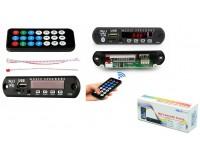 Модуль MP3 Орбита OT-SPM01 (BT MP-10) Bluetooth, FM, microSD, USB, AUX 3.5mm, размер: 10.7х2.5х2.5 см., дисплей 1.5