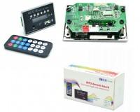 Модуль MP3 TDS BT MP-13 Bluetooth, FM, microSD, USB, AUX 3.5mm, размер: 8 х 5 х 2 см., дисплей 1.5
