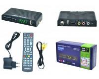 Цифровой телевизионный ресивер Орбита OT-DVB04 (HD930 +HD) DVBT2/C + медиаплеер, Wi-Fi, IPTV, HDMI, 2 USB, обучаемый пульт