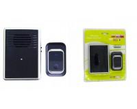 Звонок электрический беспроводной Аккорд D-3903 100 м 25 мелодий световая индикация