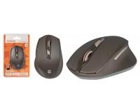 Мышь беспроводная Defender Genesis MM-785 USB Optical (1200/1600/2400dpi) коричневый, 5 кнопок+колесо-кнопка интеллектуальная система Energy Master, сверхстойкое прорезиненное покрытие «Soft Touch» блистер