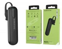 Наушники беспроводные Borofone BC20 Smart вкладыши (заушные), Bluetooth, мобильная, МОНО!!!!( 1 наушник), коробка, черный