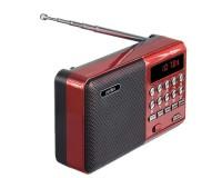 Приемник Perfeo PF-A4871/i90-BL PALM аккумуляторный AUX/USB/microSD до 32 Гб, 3 Вт., FM (87, 5-108МГц), автопоиск, LED-дисплей, питание: 5 В USB или аккумулятор 18650, размер: 115 х 78 х 37 мм., красный