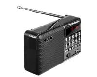 Приемник Perfeo PF-A4870/i90-BL PALM аккумуляторный AUX/USB/microSD до 32 Гб, 3 Вт., FM (87, 5-108МГц), автопоиск, LED-дисплей, питание: 5 В USB или аккумулятор 18650, размер: 115 х 78 х 37 мм., черный