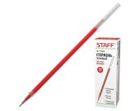 Стержень гелевый STAFF 170230 135 мм, игольчатый узел 0, 5 мм, линия письма 0, 35 м красный