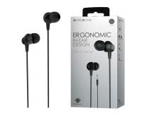 Наушники с микрофоном Borofone BM20 DasMelody вкладыши, кабель 1, 2м, коробка, черные