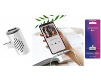 Переходник Borofone BV6 Comfortable штекер Iphone 5 - 2 гнезда Iphone 5, до 2А, белый, блистер,